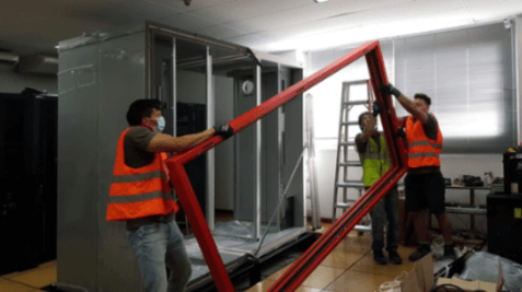 instalacion mini data center barcelona
